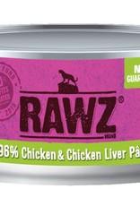 Rawz Rawz Cat 96% Chicken & Chicken Liver Pate