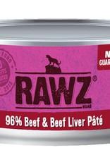 Rawz Rawz Cat 96% Beef & Beef Liver Pate 5.5oz