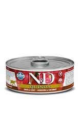 Farmina SALE - Farmina Cat N&D Quinoa - Venison Skin & Coat 2.8oz