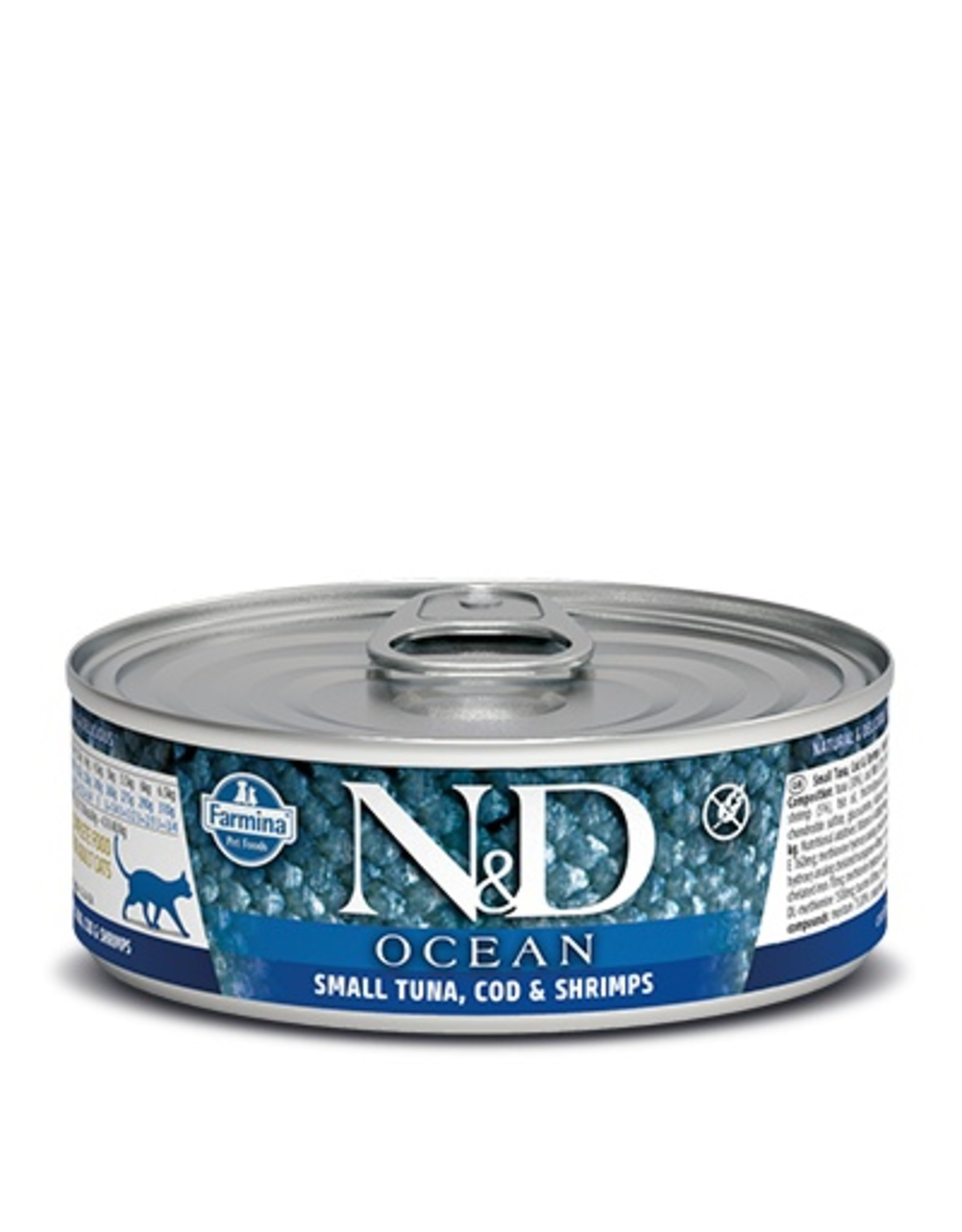 Farmina Farmina Cat N&D Ocean - Small Tuna, Cod & Shrimp 2.8oz