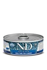 Farmina SALE - Farmina Cat N&D Ocean - Small Tuna, Cod & Shrimp 2.8oz