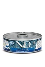 Farmina SALE - Farmina Cat N&D Ocean - Small Tuna & Shrimp 2.8oz