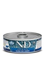 Farmina Farmina Cat N&D Ocean - Salmon, Cod & Shrimp 2.8oz
