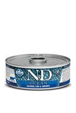 Farmina SALE - Farmina Cat N&D Ocean - Salmon, Cod & Shrimp 2.8oz