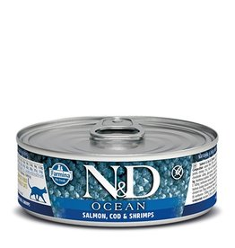 Farmina Farmina Cat N&D Ocean - Salmon, Cod & Shrimp 2.8oz