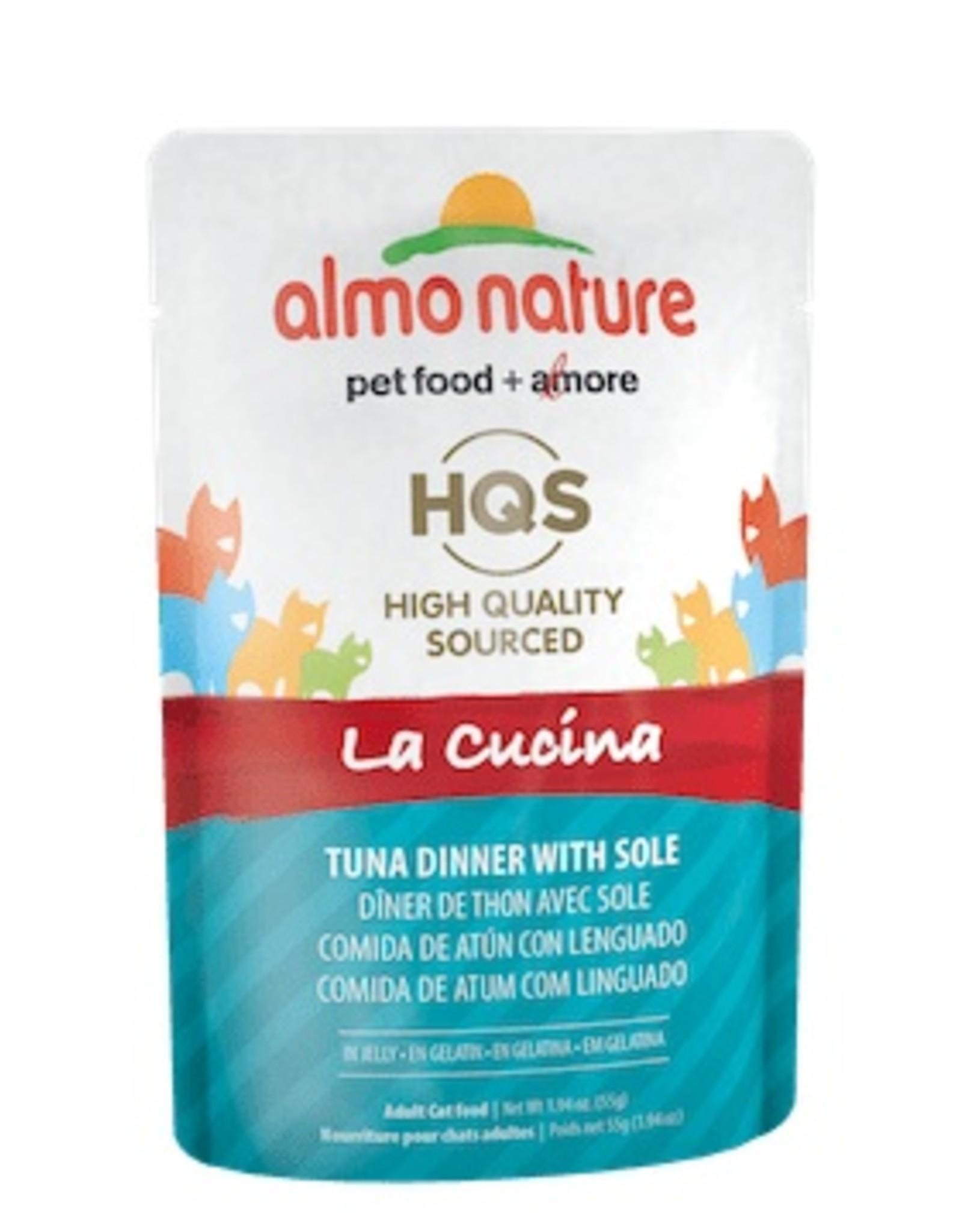 Almo Nature Almo Nature La Cucina Tuna Dinner with Sole Pouch