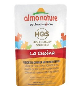 Almo Nature Almo Nature La Cucina Chicken Dinner with Whitefish Pouch