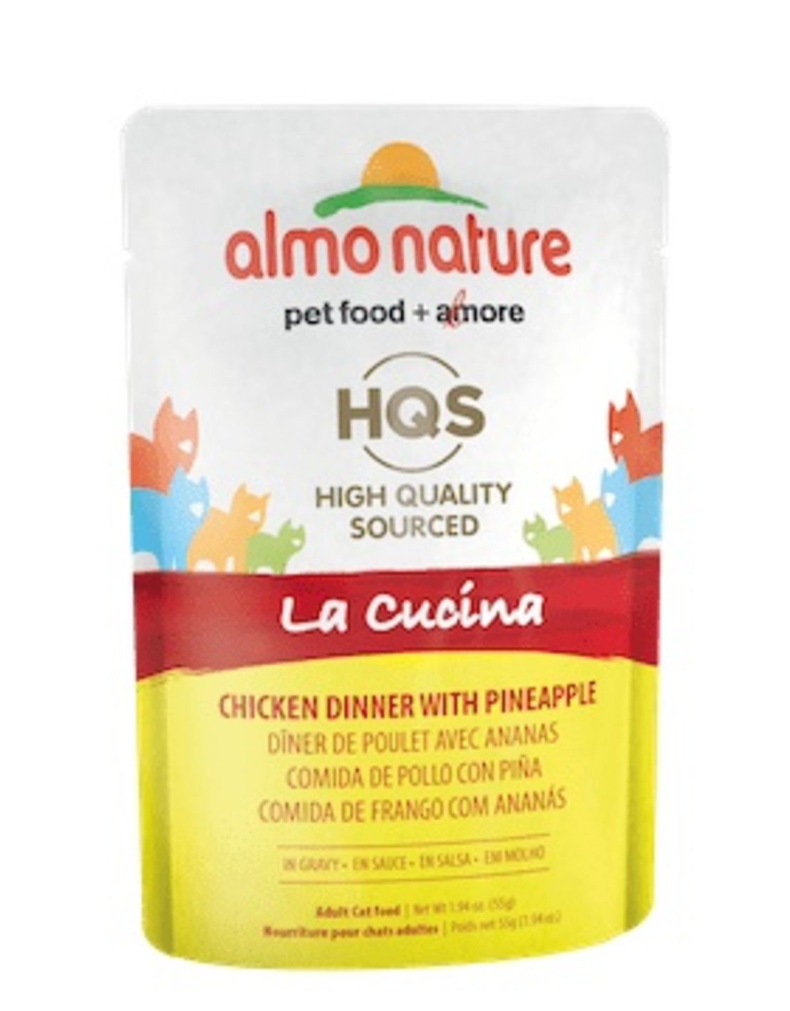 Almo Nature Almo Nature La Cucina Chicken Dinner with Pineapples Pouch