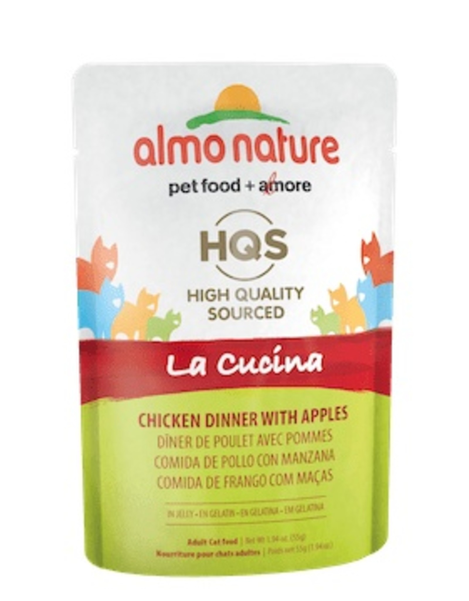 Almo Nature Almo Nature La Cucina Chicken Dinner with Apples Pouch