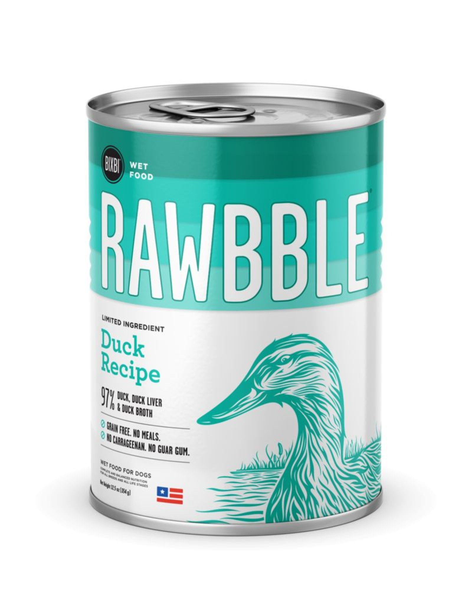 Bixbi Rawbble Duck Recipe 12.5oz