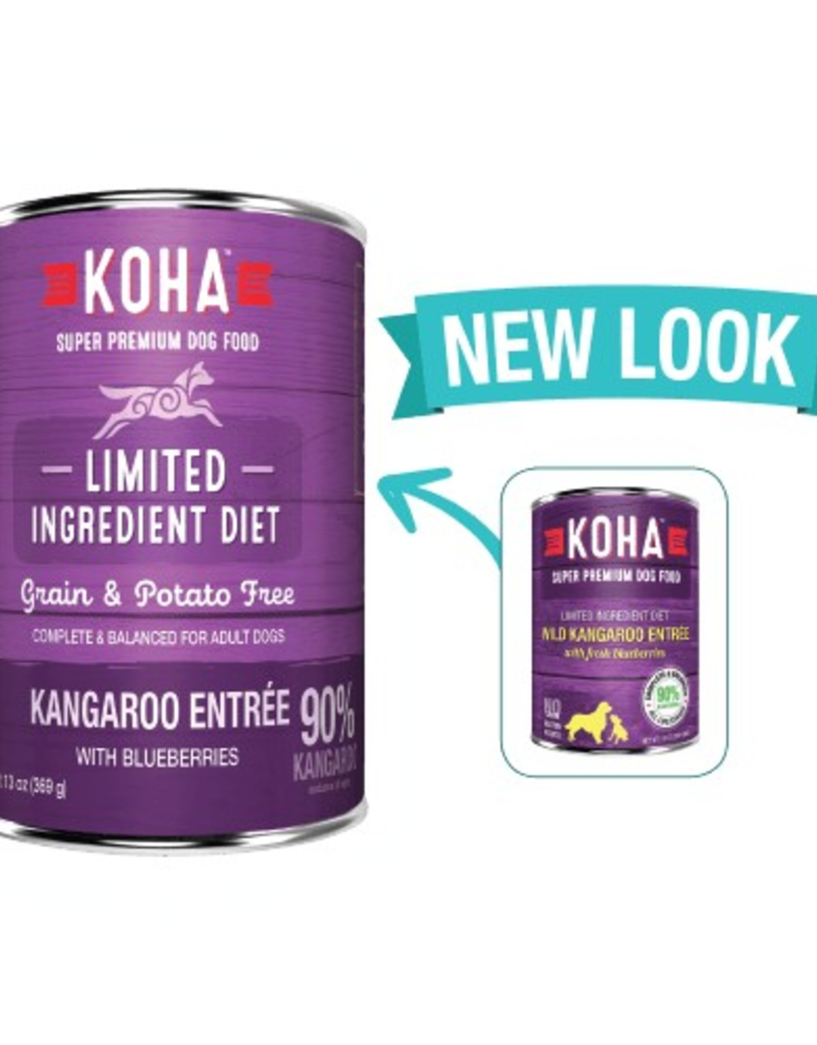 Koha Koha Limited Ingredient Kangaroo Entree for Dogs 13oz
