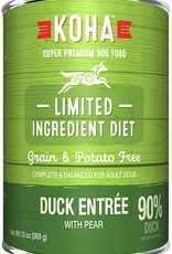 Koha Koha Limited Ingredient Duck Entree for Dogs 13oz