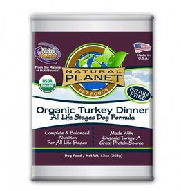 Natural Planet Natural Planet Organic Turkey Dinner Dog 13oz