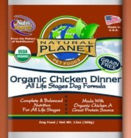 Natural Planet Natural Planet Organics Chicken Dinner Dog 13oz