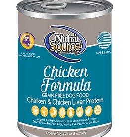NutriSource NutriSource Chicken Formula Dog 13oz