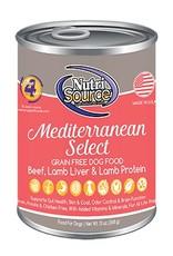 NutriSource NutriSource Mediterranean Select Dog 13oz