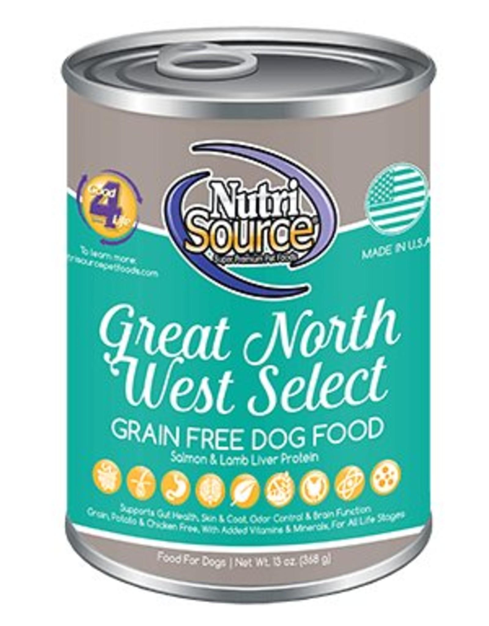 NutriSource NutriSource Great North West Select Dog 13oz