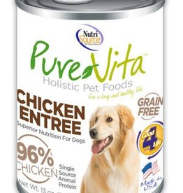 PureVita PureVita Chicken & Chicken Liver Dog Cans 13oz