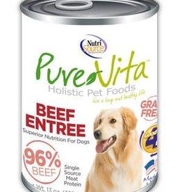 PureVita PureVita Beef & Beef Liver Dog Cans 13oz