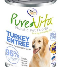 PureVita PureVita Turkey & Turkey Liver Dog Cans 13oz