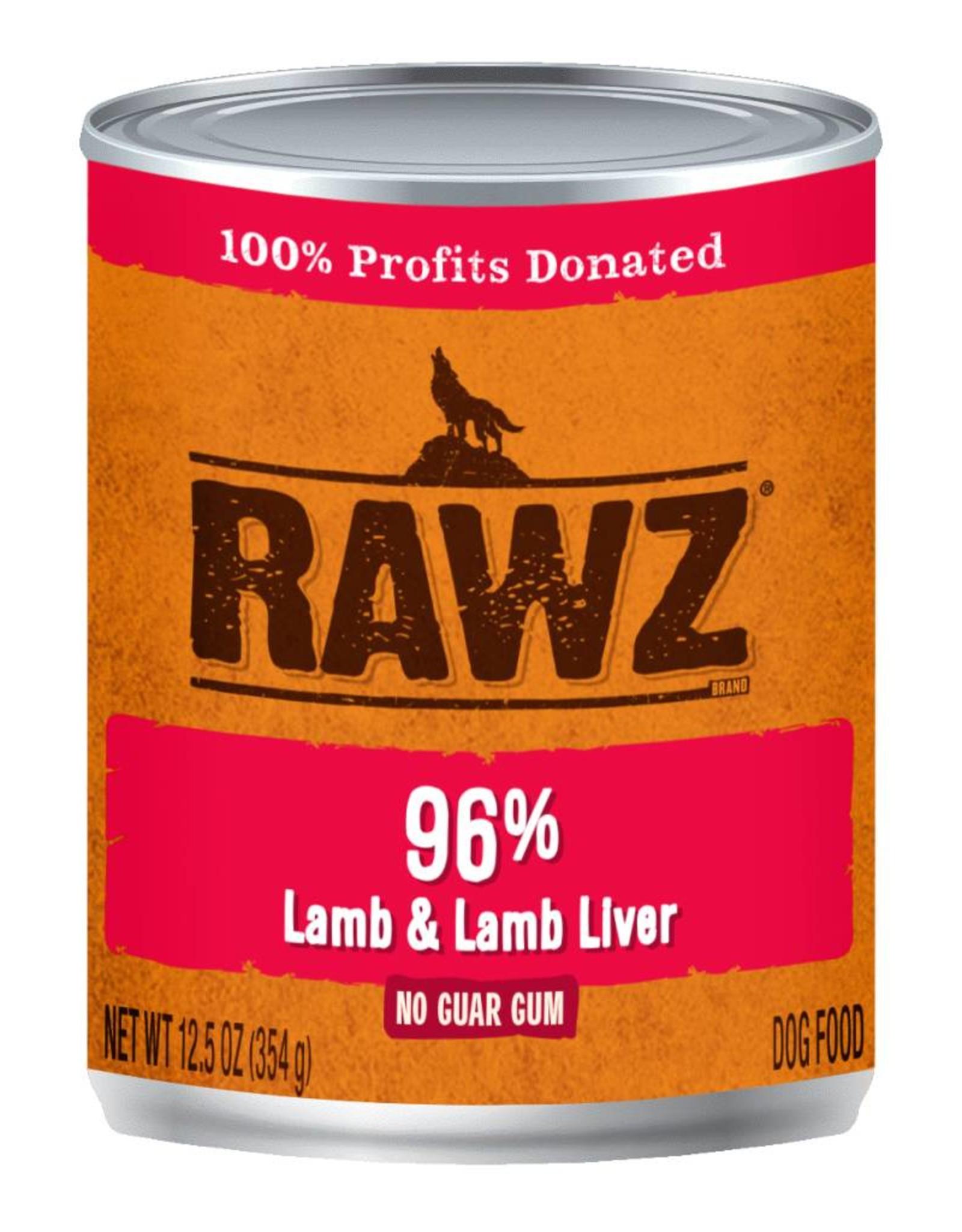 Rawz Rawz K9 96% Lamb & Lamb Liver Pate 12.5oz