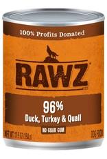 Rawz Rawz K9 96% Duck, Turkey & Quail Pate 12.5oz