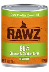 Rawz Rawz K9 96% Chicken & Chicken Liver Pate 12.5oz