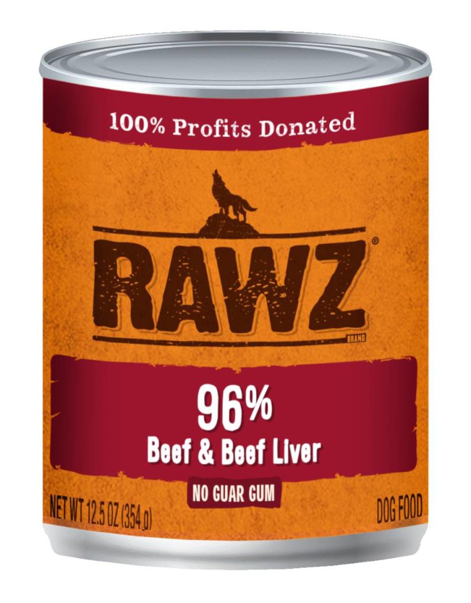 Rawz Rawz K9 96% Beef & Beef Liver Pate 12.5oz