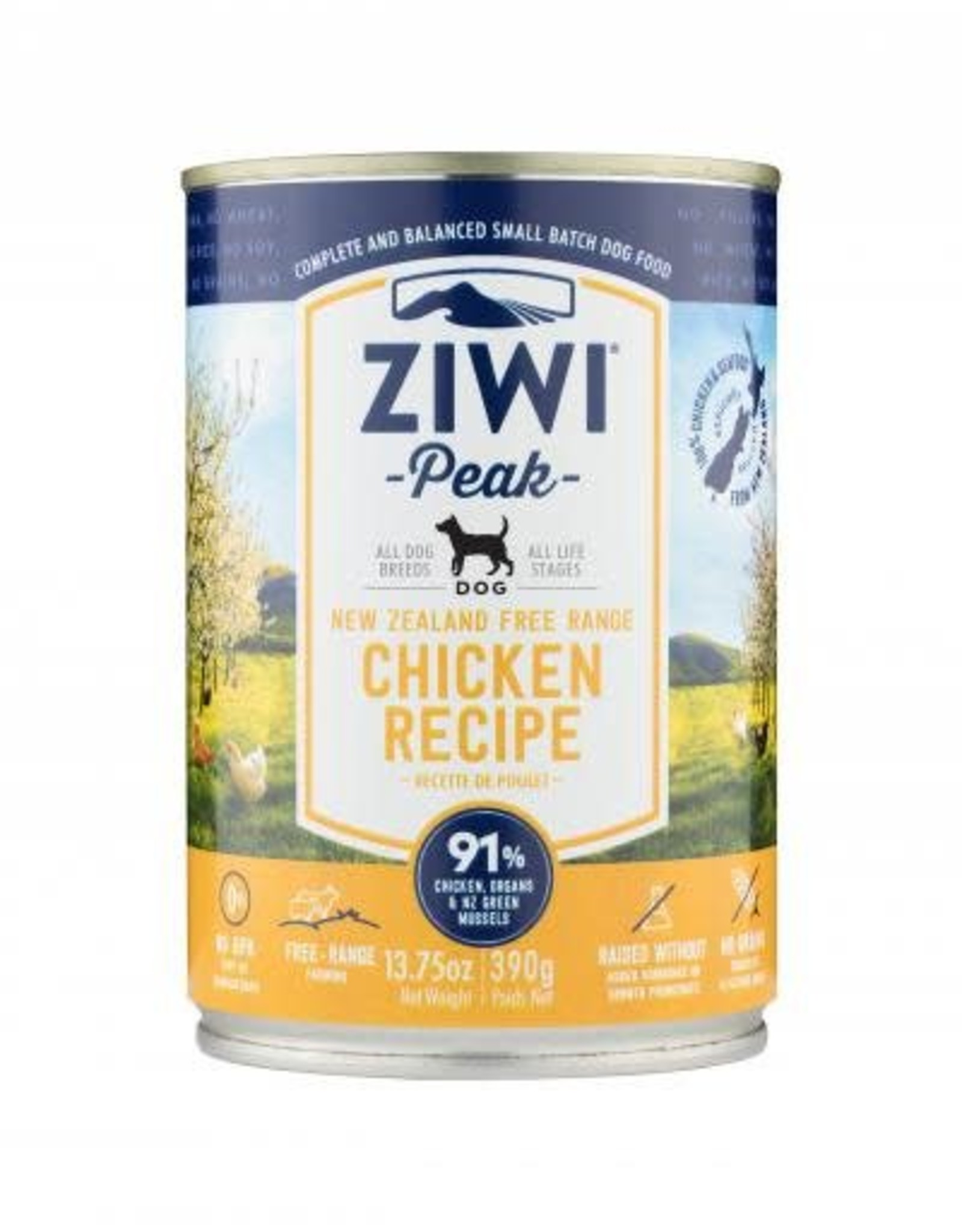 ZiwiPeak ZiwiPeak Chicken For Dogs 13.75oz