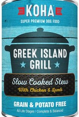 Koha Koha Greek Island Grill Slow Cooked Stew for Dogs 12.7oz