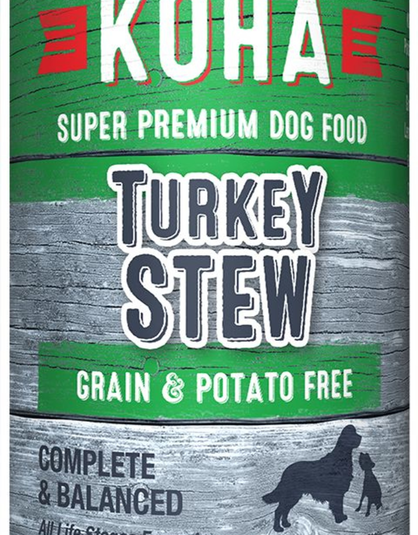 Koha Koha Turkey Stew for Dogs 12.7oz