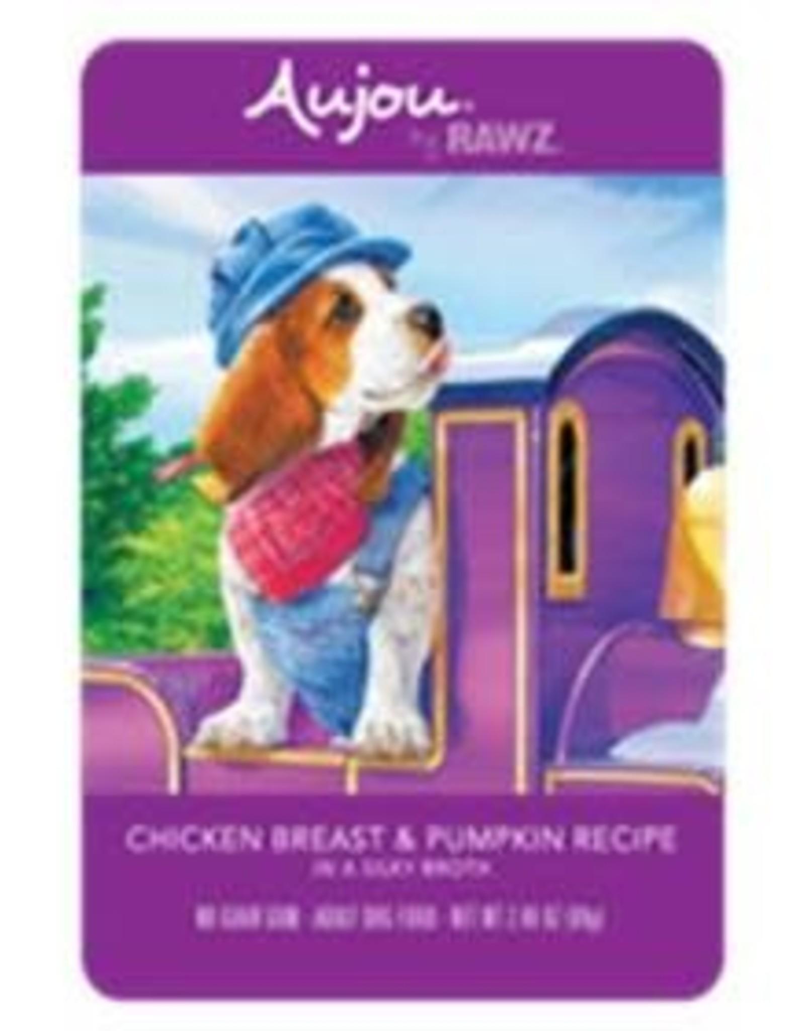 Rawz Rawz K9 AuJou Shredded Chicken Breast & Pumpkin 2.46oz Pouch