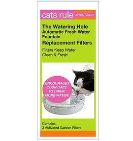 Cats Rule 3pk Refill Filters for Fountain