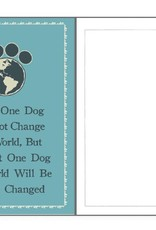 Dog Speak Dog Speak Card - Rescue - Saving One Dog