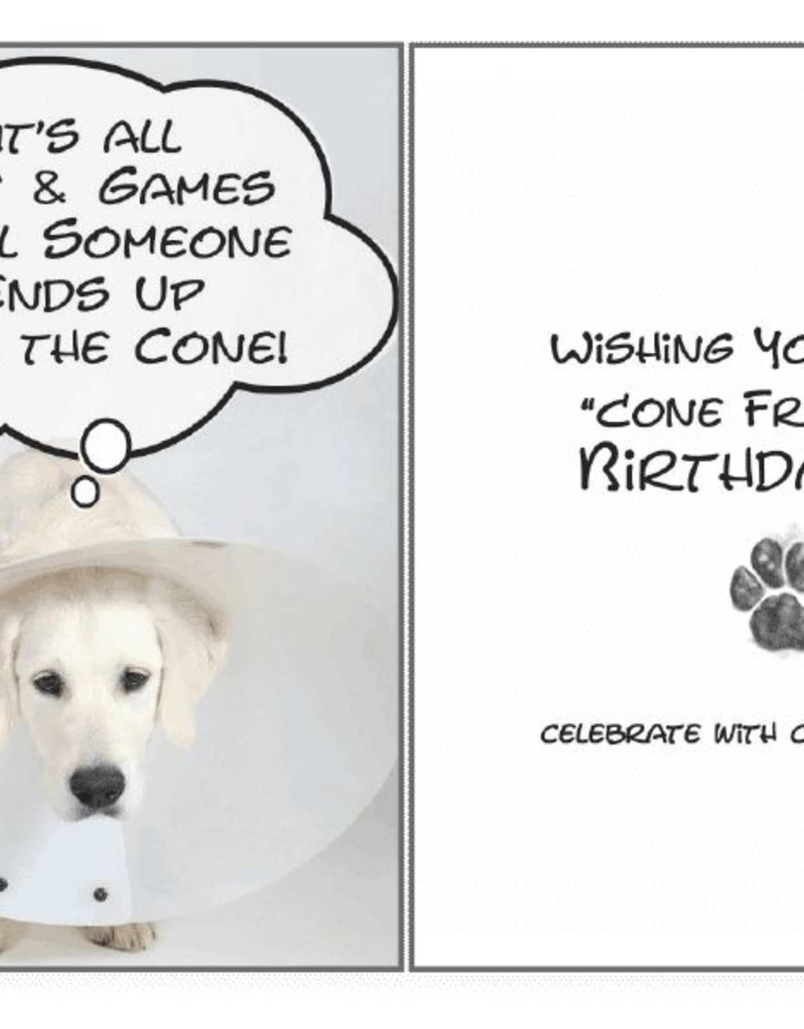 Dog Speak Dog Speak Card - Birthday - Cone Free Birthday