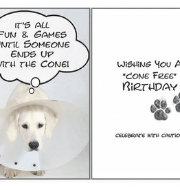 Dog Speak Dog Speak Card - Birthday - Cone Free Birthday