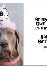 Dog Speak Dog Speak Card - Birthday - B.Y.O.Bone