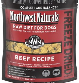 Northwest Naturals Northwest Naturals Freeze-Dried Beef Dog 12oz