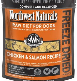 Northwest Naturals Northwest Naturals Freeze-Dried Chicken & Salmon 12oz