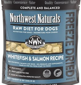 Northwest Naturals Northwest Naturals Freeze Dried Whitefish Salmon 11oz