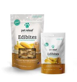 Pet Releaf Pet Releaf Edibites Peanut Butter & Banana 30ct
