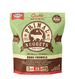 Primal Pet Food SALE - Primal Feline Raw Frozen Quail Formula 3lb