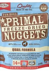 Primal Pet Food Primal Canine Freeze-Dried Raw Quail 14oz