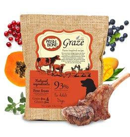 Addiction Wish Bone Graze - Grain Free New Zealand Beef