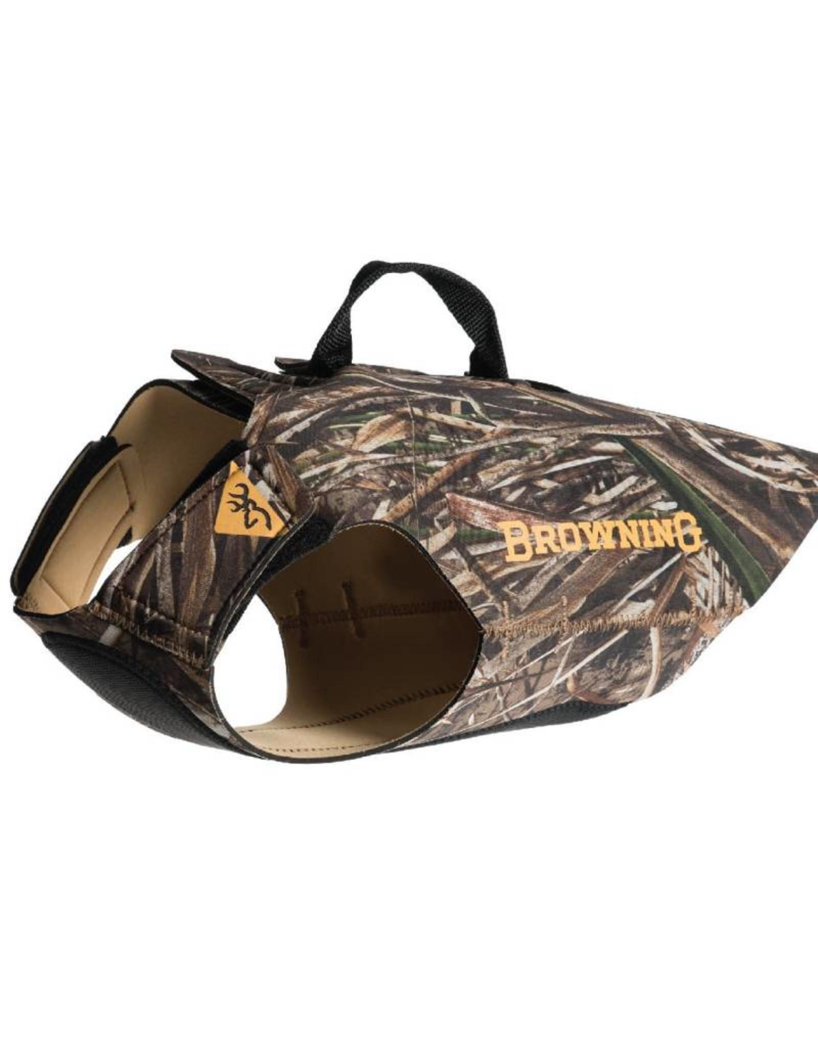 Browning Camo Neoprene Dog Vest