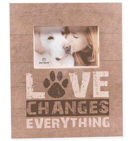 Dog Speak Dog Speak Pallet Box Frame - Love Changes Everything