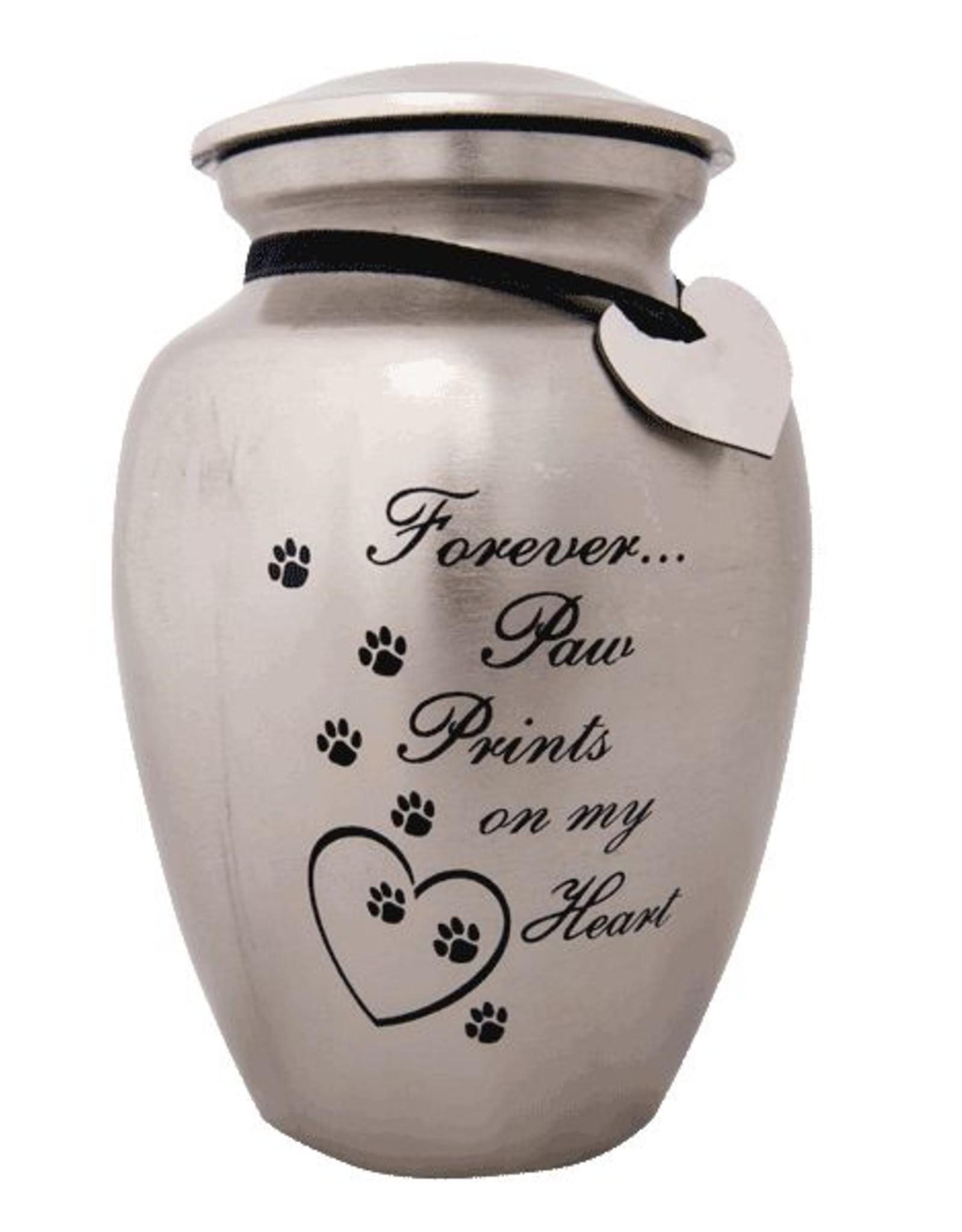 Dog Speak Dog Speak Urn - Forever Paw Prints on My Heart
