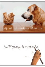 Dog Speak Dog Speak Card - Birthday - May All Your Dreams Come True
