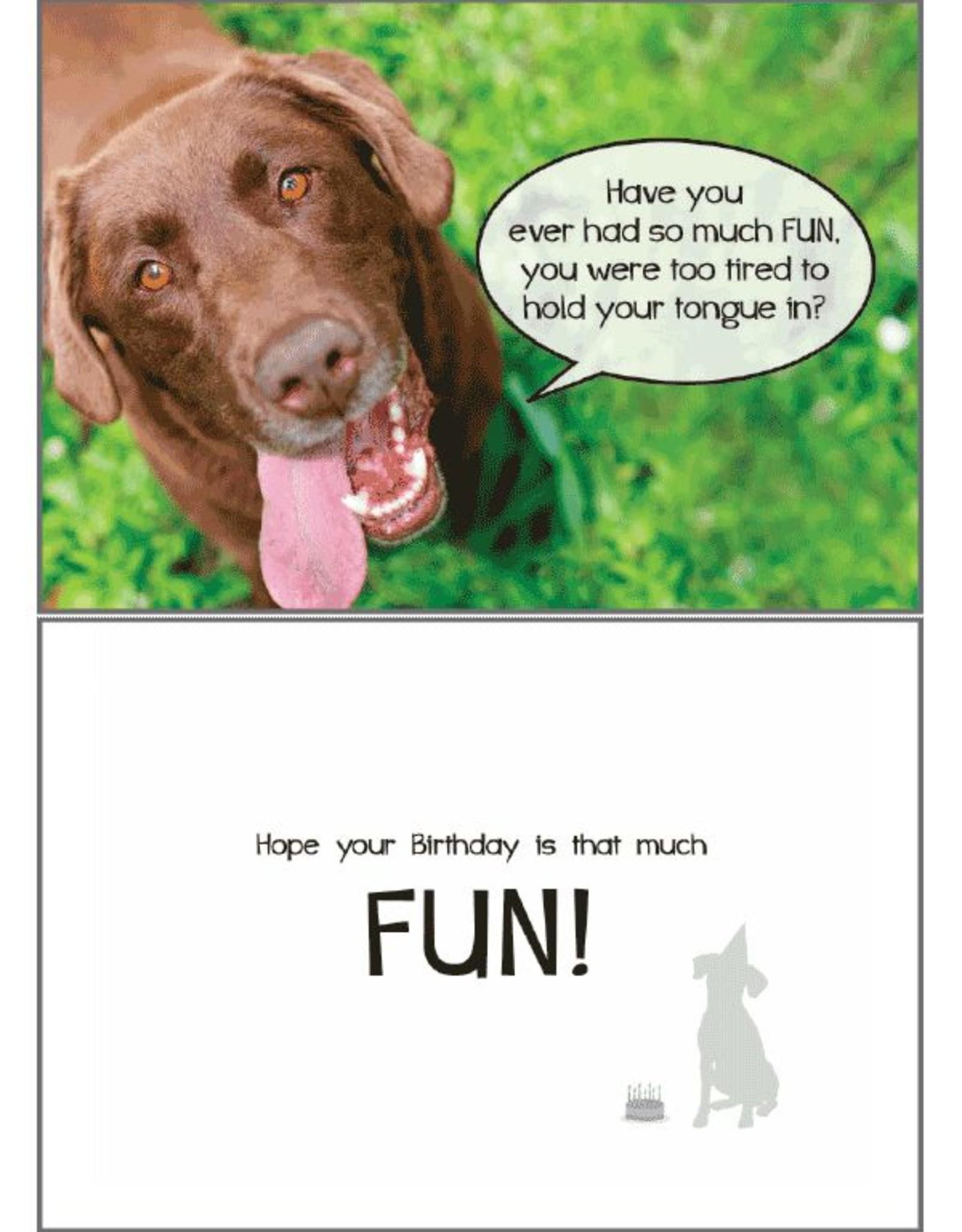 Dog Speak Dog Speak Card - Birthday - So Much Fun