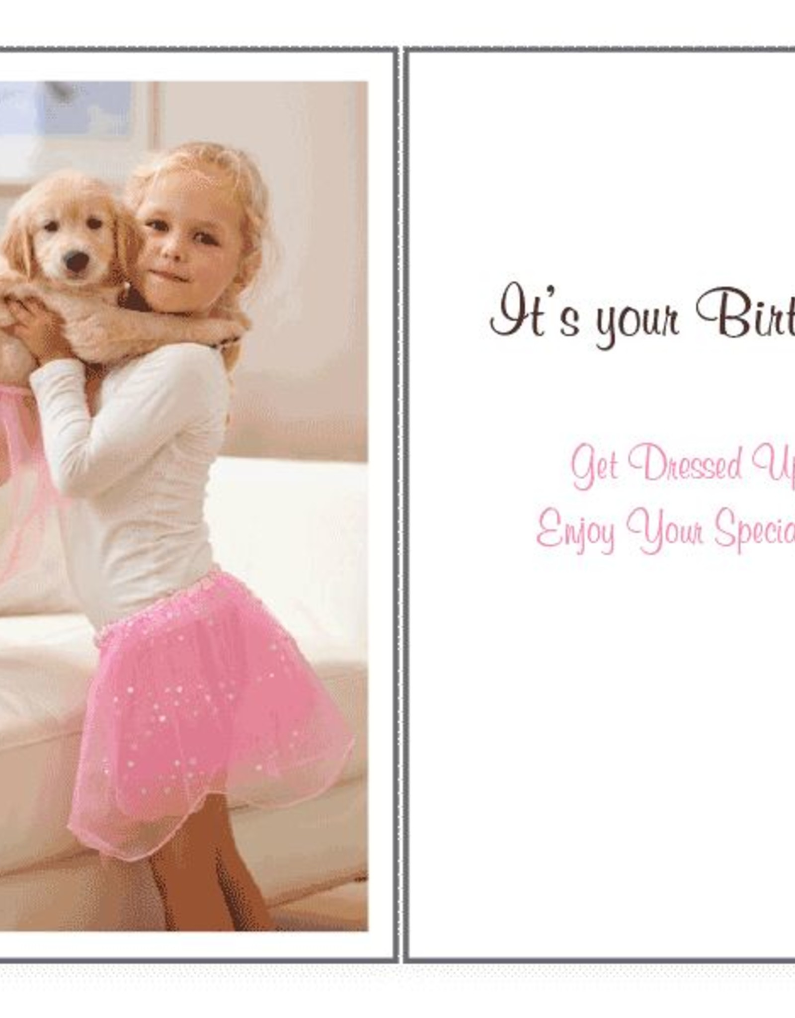 Dog Speak Dog Speak Card - Birthday - It's Your Birthday